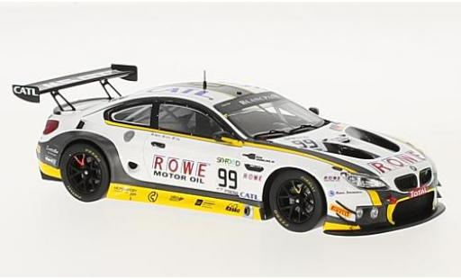 Bmw M6 1/43 Spark GT3 No.99 Rowe Racing 24h Spa 2017 P.Eng/M.Martin/A.Sims diecast model cars