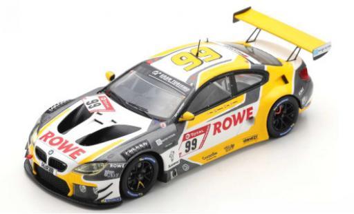 Bmw M6 1/43 Spark GT3 No.99 Rowe Racing ROWE 24h Nürburgring 2020 A.Sims/N.Catsburg/N.Yelloly diecast model cars