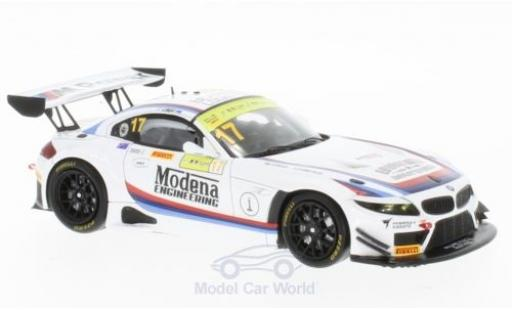 Bmw Z4 1/43 Spark GT3 No.17 Modena Engineering Macau GT Cup 2016 R.Capo diecast model cars