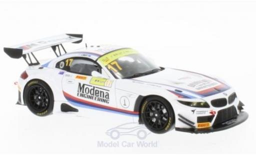 Bmw Z4 1/43 Spark GT3 No.17 Modena Engineering Macau GT Cup 2016 R.Capo miniature