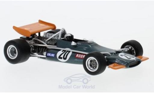 Brm P153 1970 1/43 Spark BRM No.20 Formel 1 GP South Afrika 1970 P.Rodriguez miniature