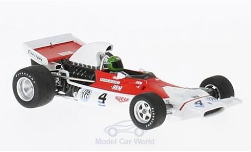 Brm P153 1972 1/43 Spark BRM No.4 GP Argentinien R.Wisell miniature