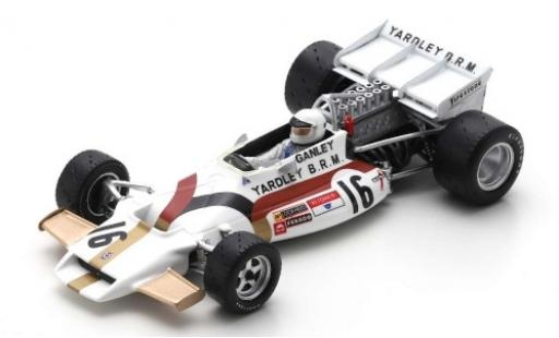 Brm P160 1/43 Spark BRM No.16 Yardley B.R.M. Formel 1 GP USA 1971 H.Ganley miniature