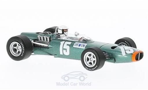 BRM P261 1/43 Spark No.15 Formel 1 GP Großbritannien 1967 C.Irwin miniature