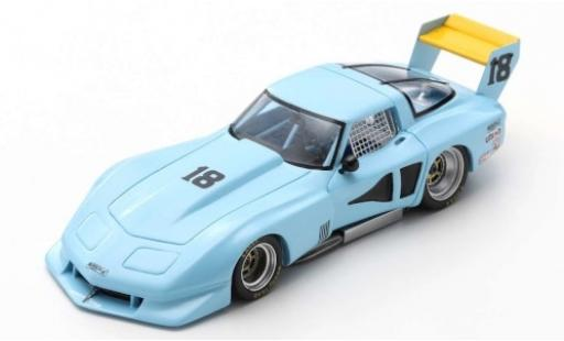 Chevrolet Corvette 1/43 Spark C3 No.18 Road Atlanta 1978 J.Paul miniature
