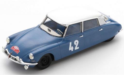 Citroen DS 1/43 Spark 19 No.42 Rallye Monte Carlo 1963 L.Bianchi/J.-C.Ogier diecast model cars