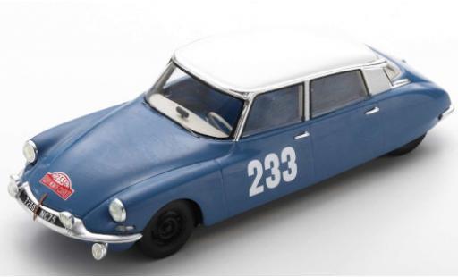 Citroen DS 1/43 Spark 19 No.233 Rallye Monte Carlo 1963 P.Toivonen/A.Järvi diecast model cars