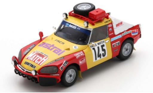 Citroen DS 1/43 Spark 23 No.145 Rallye Paris Dakar 1981 B.Roncin/P.Quentin/P.Darmendrail miniature