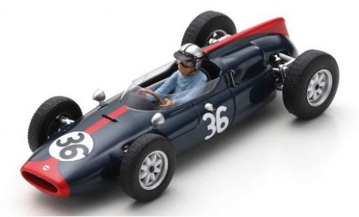 Cooper T53 1/43 Spark No.36 Yeoman Credit Racing Team Formel 1 GP Großbritannien 1961 R.Salvadori miniature