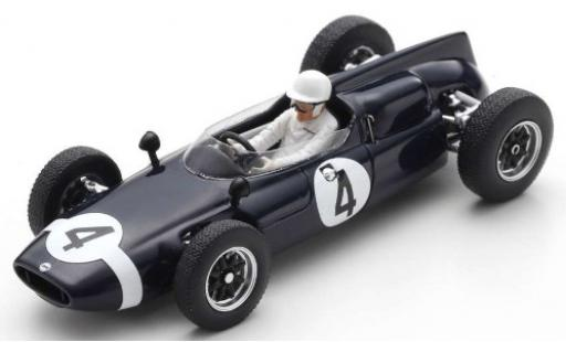 Cooper T53 1/43 Spark No.4 RRC Walker Racing Team International Trophy 1961 S.Moss miniature