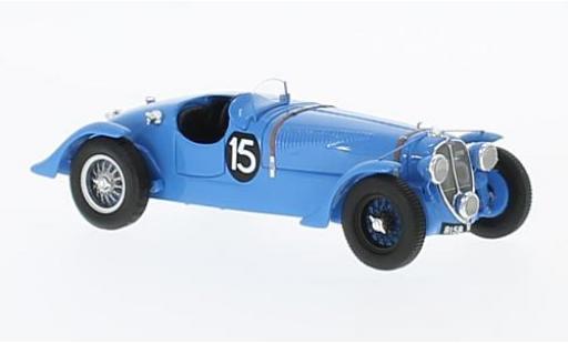 Delahaye 135 1/43 Spark S RHD No.15 24h Le Mans 1938 E.Chaboud/J.Tremoulet miniature