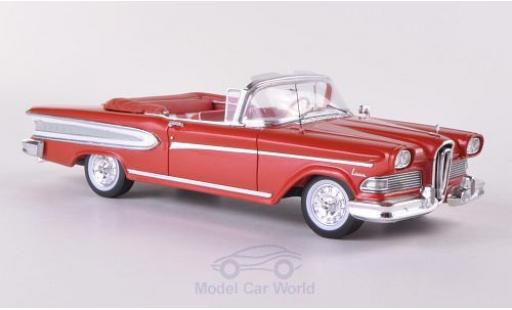Edsel Citation 1/43 Spark Convertible metallic-rouge/blanche 1958 miniature