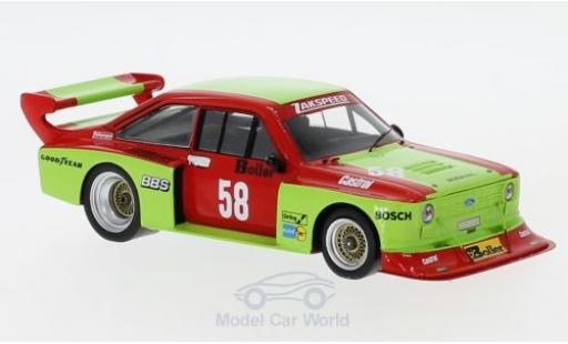 Ford Escort 1980 1/43 Spark Turbo No.58 DRM Zolder Westfalen W.Boller miniature