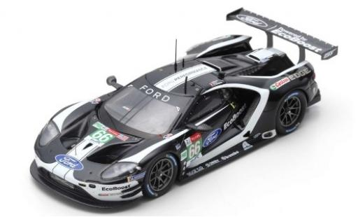 Ford GT 1/43 Spark No.66 Chip Ganassi Team UK 24h Le Mans 2019 S.Mücke/O.Pla/B.Johnson diecast