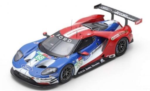 Ford GT 1/43 Spark No.68 Chip Ganassi Team USA 24h Le Mans 2019 J.Hand/D.Müller/S.Bourdais diecast model cars