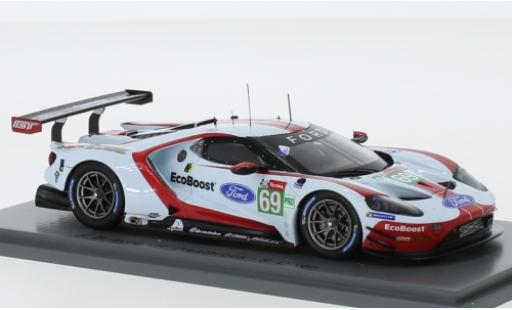 Ford GT 1/43 Spark No.69 Chip Ganassi Team USA 24h Le Mans 2019 R.Briscoe/R.Westbrook/S.Dixon diecast model cars