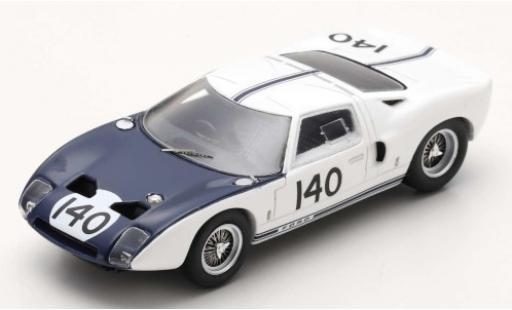 Ford GT 1/43 Spark RHD No.140 1000km Nürburgring 1964 P.Hill/B.McLaren diecast model cars