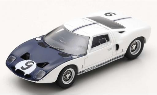 Ford GT 1/43 Spark RHD No.9 Le Mans 1964 Test Avril J.Schlesser miniature