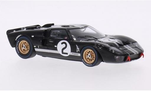 Ford GT40 1/43 Spark MK2 RHD No.2 24h Le Mans 1966 B.McLaren/C.Amon diecast model cars