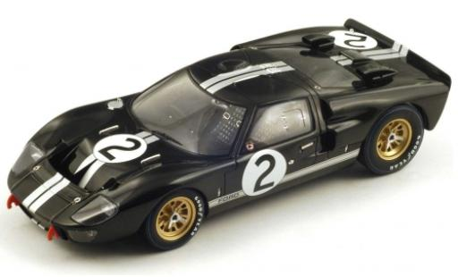 Ford GT40 1/18 Spark MkII No.2 24h Le Mans 1966 B.McLaren/C.Amon diecast model cars