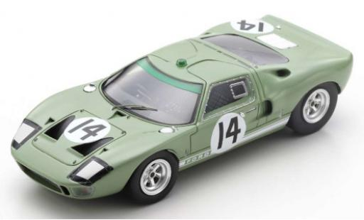 Ford GT40 1/43 Spark RHD No.14 24h Le Mans 1965 J.Whitmore/I.Ireland diecast model cars
