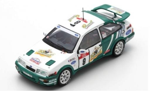 Ford Sierra 1/43 Spark RS Cosworth No.8 Rallye WM Tour de Corse 1988 D.Auriol/B.Occelli miniature