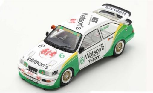 Ford Sierra 1/43 Spark RS500 Cosworth No.6 Watsons Macau Guia Race 1990 R.Gravett diecast model cars