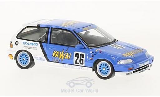 Honda Civic 1/43 Spark EF3 RHD No.26 Kawaisteel Macau Guia Race 1989 K.Shimizu diecast model cars