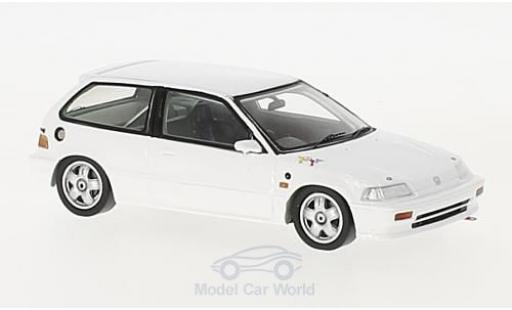 Honda Civic 1/43 Spark EF3 blanche RHD 1988 Group A miniature