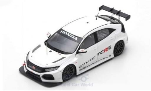 Honda Civic 1/43 Spark Type R TCR J.A.S. Motorsport TCR International Series Test Valencia 2018 Testfahrzeug T.Monteiro miniature