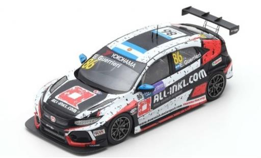 Honda Civic 1/43 Spark Type R TCR No.86 WTCR Macau Guia Race 2018 E.Guerrieri miniature