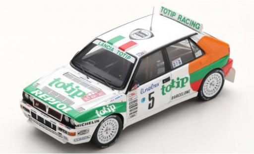 Lancia Delta 1/43 Spark HF Integrale EVO No.5 Jolly Club Totip Rallye WM Rallye Monte Carlo 1993 A.Aghini/S.Farnocchia miniature