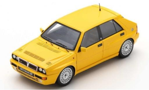 Lancia Delta 1/43 Spark HF Integrale Evoluzione yellow 1993 diecast model cars