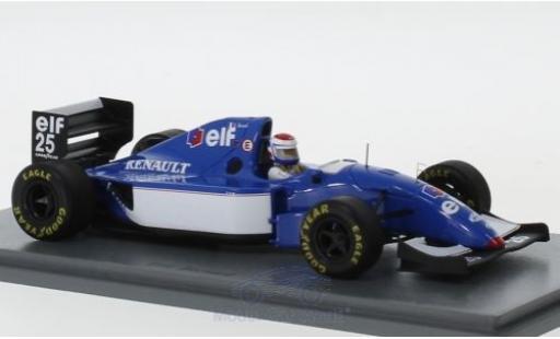 Ligier JS3 1/43 Spark 9B No.25 Formel 1 GP Frankreich 1994 E.Bernard miniature