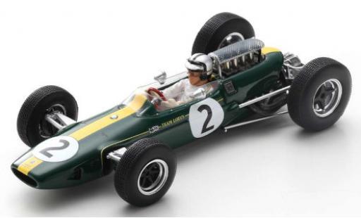 Lotus 33 1/43 Spark No.2 Team Formel 1 GP Frankreich 1966 P.Rodriguez diecast model cars