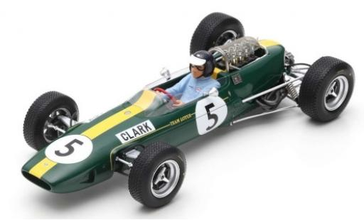 Lotus 33 1/18 Spark No.5 Team GP Großbritannien 1965 J.Clark miniature