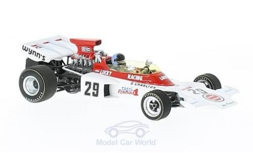 Lotus 72 1/43 Spark D No.29 Scribante Lucky Strike Racing Lucky Strike Formel 1 GP England 19 mit Decals D.Charlton miniature