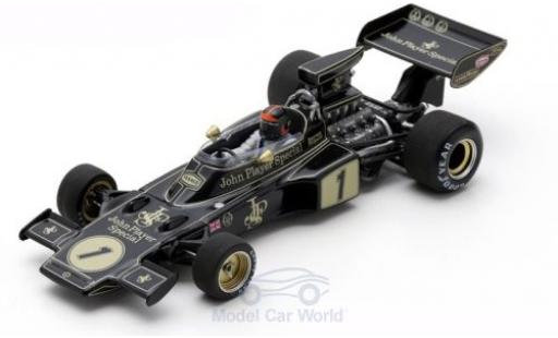 Lotus 72 1/43 Spark E No.1 John Player Special Formel 1 GP Spanien 1973 E.Fittipaldi miniature
