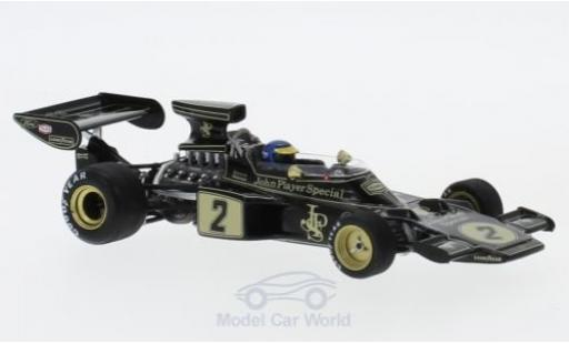 Lotus 72 1/43 Spark E No.2 John Player Special Formel 1 GP Frankreich 1973 R.Peterson miniature