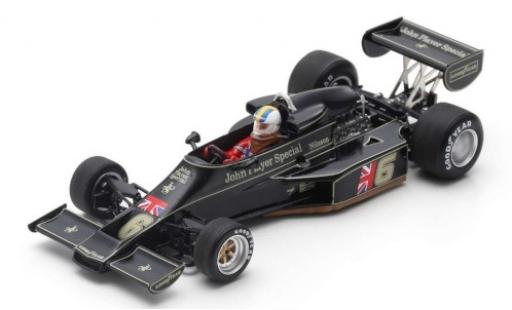 Lotus 77 1/43 Spark No.6 John Player Team John Player Special Formel 1 GP Österreich 1976 G.Nilsson diecast model cars