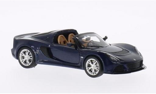 Lotus Exige 1/43 Spark S metallise blue 2013 diecast model cars