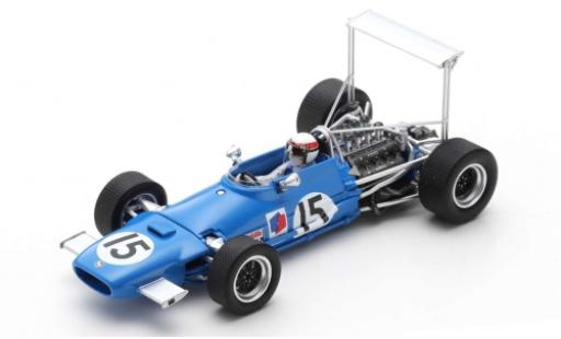 Matra MS1 1/43 Spark 0 No.15 Formel 1 GP USA 1968 J.Stewart miniature