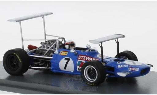 Matra MS1 1/43 Spark 0 No.7 Formel 1 GP South Afrika 1969 J.Stewart miniature