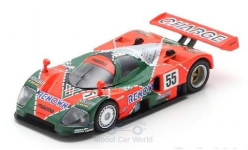 Mazda 787B 1/64 Spark No.55 Renown 24h Le Mans 1991 V.Weidler/J.Herbert/B.Gachot diecast