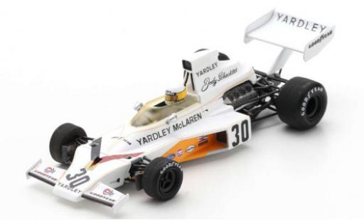 McLaren M23 1/43 Spark Ford No.30 Yardley Team Formel 1 GP Großbritannien 1973 J.Scheckter coche miniatura