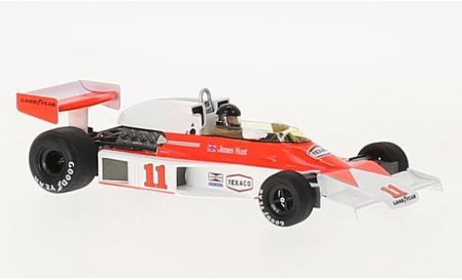 McLaren M23 1/43 Spark No.11 Marlboro Formel 1 GP Frankreich 1976 avec Decals J.Hunt miniature