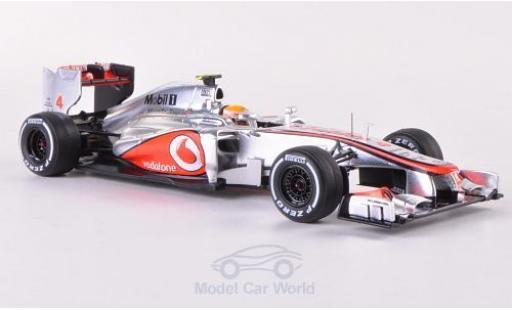 McLaren MP4 1/43 Spark -27 No.4 Vodafone GP Italien 2012 Decals liegen bei L.Hamilton miniature