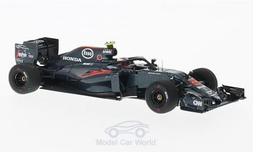 McLaren MP4-12C 1/43 Spark MP4-31 No.22 Halo Test GP Italien 2016 J.Button miniature