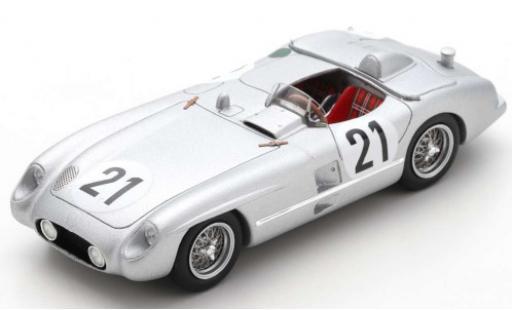 Mercedes 300 1/43 Spark SLR No.21 24h Le Mans 1955 K.Kling/A.Simon diecast model cars