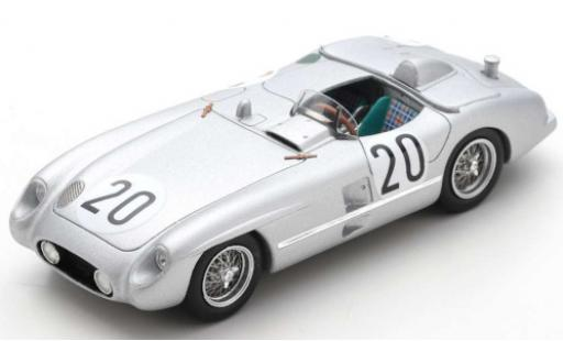 Mercedes 300 1/43 Spark SLR (W196) No.20 Daimler-Benz A.G. 24h Le Mans 1955 P.Levegh/J.Fitch diecast model cars